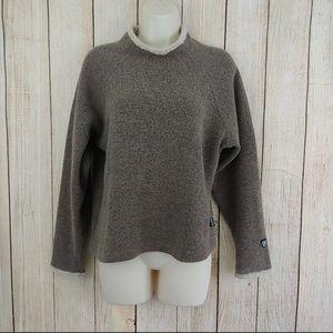 Kuhl Womens Alf Alfpaca Sherpa Sweater Fleece